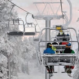 Ski Lift at Royal Mountain
