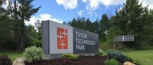 Tryon Park Sign