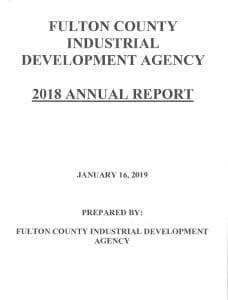 2018 FCIDA Annual Report Cover