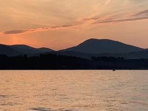 Great Sacandaga Lake Sunset